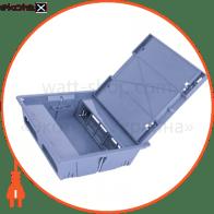 люк adk-p 18 модулів розподільчий на типу 45х22.5 мм. кришка зі стальною пластиною 2 мм