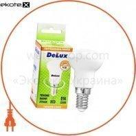 лампа светодиодная DELUX FC1 R39 4 Вт 2700K 220В E14 теплый белый