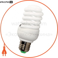 Лампа энергосберегающая e.save.screw.E27.20.4200.T2, тип screw, патрон Е27, 20W, 4200 К, колба Т2