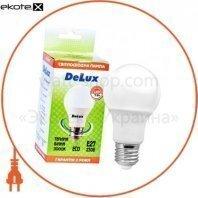 лампа светодиодная DELUX BL60 7Вт Е27 3000K теплый белый