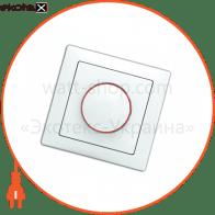 вимикач WEGA 9101 реостатного типу 800Вт (димер) білий