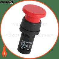 Кнопка-грибок e.SB7.54 красная NO+NC