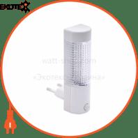 Ночник LED 0,4W 25Lm 220-240V 31x107мм. цилиндр белый