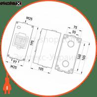 шафа розподільна e.industrial.box.4, до 4-х модулів, вологозахищена, ip65