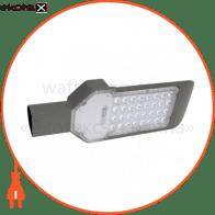 Светильник консольный SMD LED 30W 4200K 2829Lm 85-265V IP65 355x125мм.черный