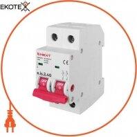 Выключатель нагрузки на DIN-рейку e.is.2.40, 2р, 40А