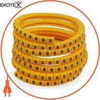 Маркер кабельный ENERGIO EC-0 цифра 1 0.75-1.5мм2 (1000шт)