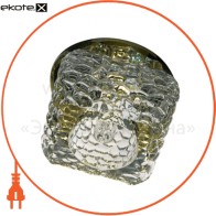 Встраиваемый светильник Feron JD185 прозрачный желтый 18923