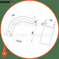 арка універсальна 90 град ( з регулюванням ) a:200, h:80