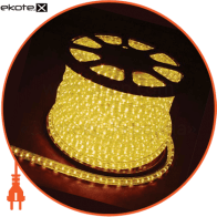 Дюралайт LED 2WAY 13мм верт. желтый (36 led/m) светодиодный