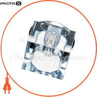 JD57B 20W G9, хром (большой квадрат)