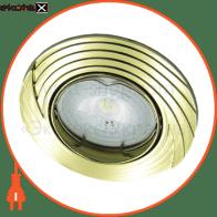 Встраиваемый светильник Feron DL6227 золото 30138