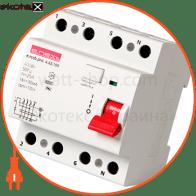 Выключатель дифференциального тока e.rccb.pro.4.63.100, 4р, 63А, 100мА