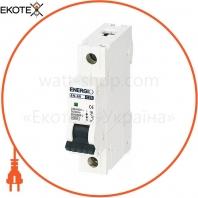 Автоматический выключатель ENERGIO EN 1P C 25А 6кА