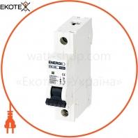 Автоматический выключатель ENERGIO EN 1P C 63А 6кА