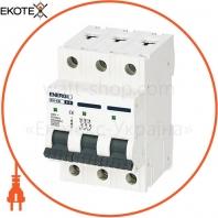 Автоматический выключатель ENERGIO EN 3P C 6А 6кА