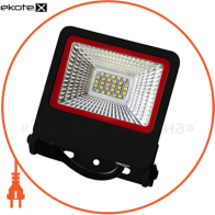 euroelectric led smd прожектор чорний з радіатором new 20w 6500k светодиодные светильники eurolamp Euroelectric LED-FL-20(black)new