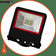 EUROELECTRIC LED SMD Прожектор  черный с радиатором NEW 20W 6500K