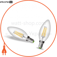 EUROLAMP LED Свеча ArtDeco 4W E27 2700K (100)