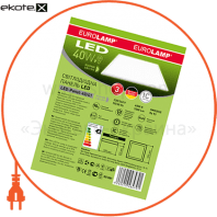 eurolamp led светильник 60*60 (панель) 40w 4000k белая рамка светодиодные светильники eurolamp Eurolamp LED-Panel-40/41