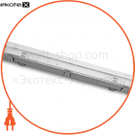 eurolamp led світильник для ламп led t8x2 (0.6m)