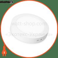 EUROLAMP LED Светильник круглый накладной Downlight 12W 4000K