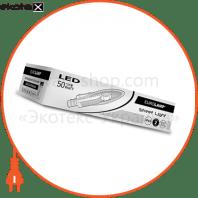 eurolamp led світильник вуличний з відбівачем cob 50w 6000k (1)