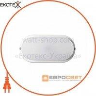 Світильник світлодіодний накладний ЕВРОСВЕТ 18Вт овал CL-303 6400K IP65