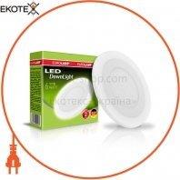 Светодиодный EUROLAMP LED Светильник круглый точечный 6W 4000K(white)