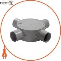 Коробка e.pipe.4.db.stand.25 соединительная трубная, 4 ввода, d25мм
