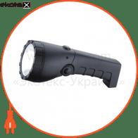 Ліхтар акумуляторний POWER LED 3W 100Lm батарея 900mAh 220-240V