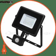 світлодіодний прожектор DELUX FMI 10 S LED 30Вт 6500K IP44 с датч. руху