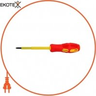 Отвертка изолированная e.tool.ph.303 (PH0*75) крест