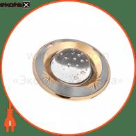 светильник точечный поворотный DELUX HDL16006 50Вт G5.3 хром.мат.-золото