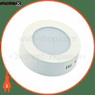 світильник світлодіодний стельовий DELUX CFQ LED 40 4100К 18 Вт 220В кр.