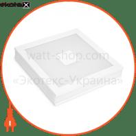 LED Світильник квадратний накладний Downlight NEW 24W 4000K