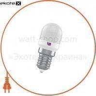 Лампа светодиодная пигми PA-10 1,5W E14 3000K пластик.корп. 18-0174