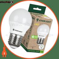 лампа світлодіодна enerlight g45 5вт 3000k e27
