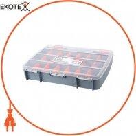 Органайзер-кейс пластиковый, e.toolbox.05, 380х310х70мм