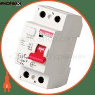 Выключатель дифференциального тока e.rccb.pro.2.63.100, 2р, 63А, 100мА
