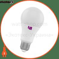 Лампа светодиодная стандартная B60 PA10 10W E27 3000K алюмопл. корп. 18-0047