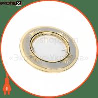 светильник точечный поворотный DELUX HDL16135R 50Вт G5.3 титан-золото