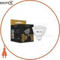 Светодиодная LED лампа ELCOR 534328 MR16 5Вт GU5.3 350Лм 2700K