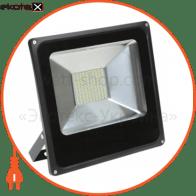 Прожектор LED Alfa 30W 6500К сірий