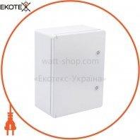 Корпус пластиковый ЩМПп 400х300х170мм УХЛ1 IP65 IEK