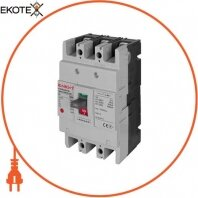 Силовой автоматический выключатель e.industrial.ukm.100S.125, 3р, 125А