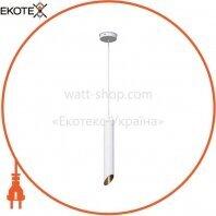 Потолочный подвесной светильник Venom TUBE E27 300 мм белый (NL-3722-W)