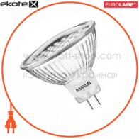 LED лампа MR16 18SMD 1.4W 3000K 220V GU5.3 Maxus