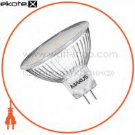 LED лампа 3W яркий свет MR16  GU5.3  220V (1-LED-144)