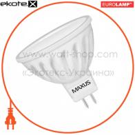 LED лампа MR16 4.5W 3000K 220V GU5.3 CR (new) Maxus
